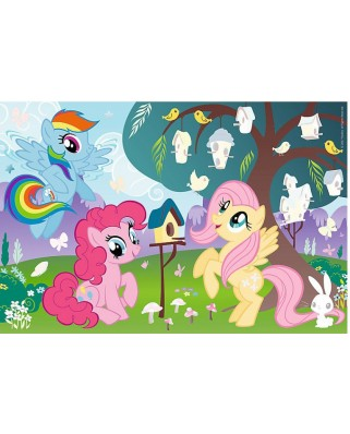 Puzzle Trefl - My Little Pony + Stickers, 35 piese (64813)