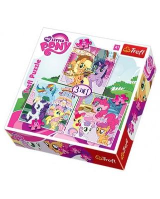 Puzzle Trefl - My Little Pony, 20/36/50 piese (48939)