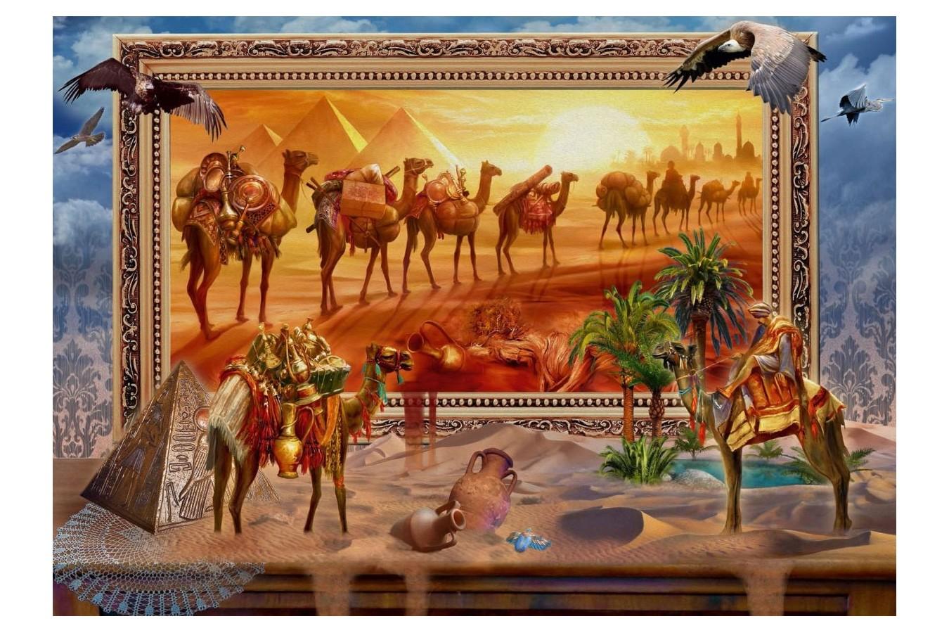 Puzzle Schmidt - Jan Patrik Krasny: Lumea egipteana prinzand viata, 1.000 piese (59338)