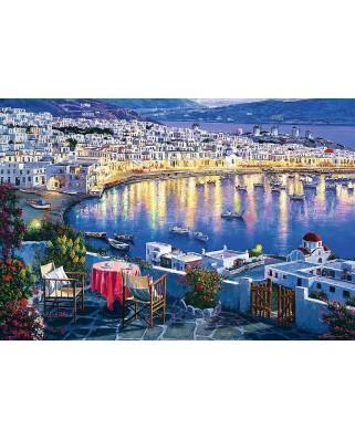 Puzzle Trefl - Mykonos at Sunset, 1500 piese (61519)