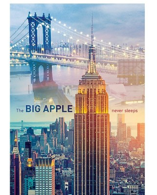 Puzzle Trefl - New York at Dawn, 1.000 piese (51280)