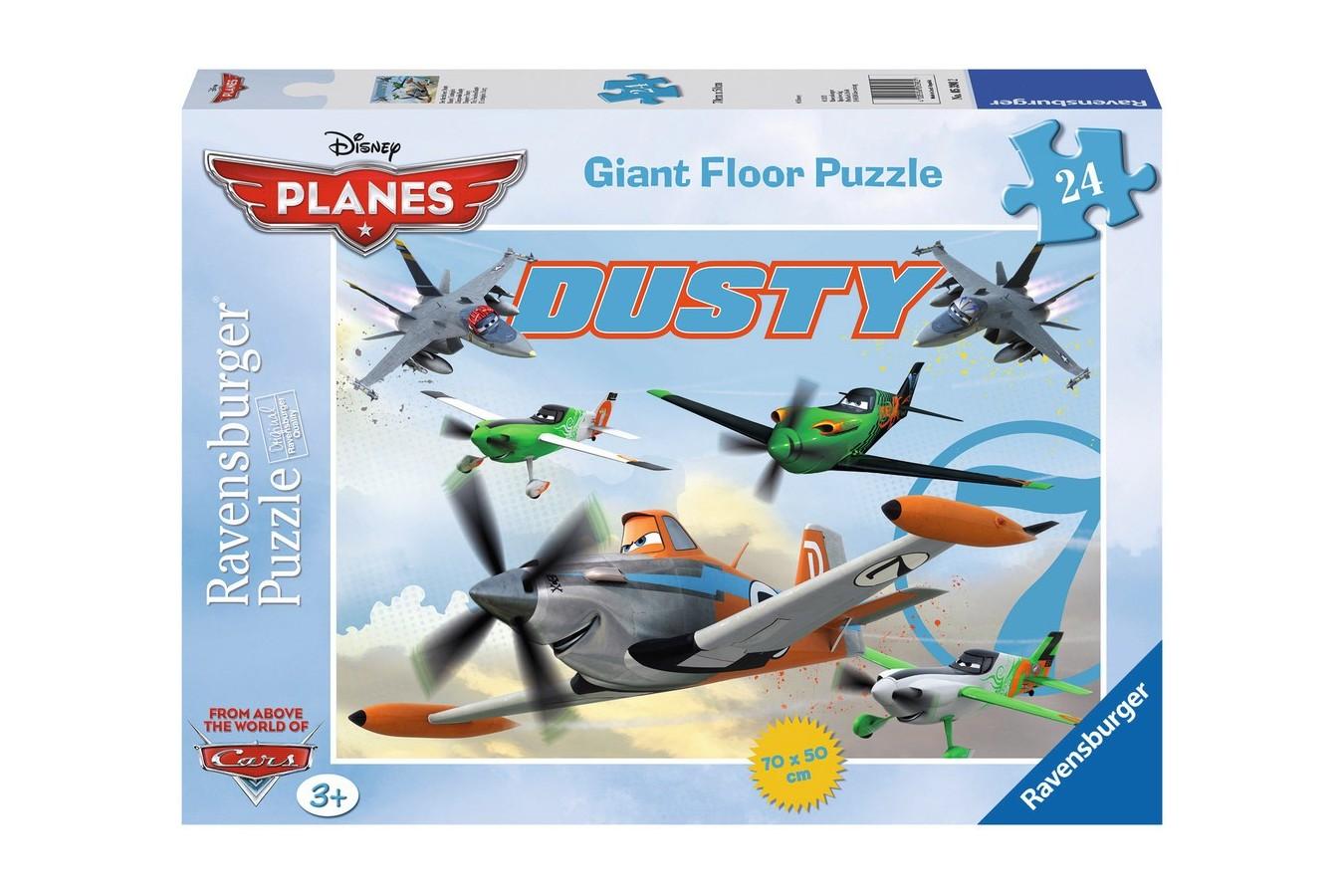 Puzzle Ravensburger - Neinfricatul Dusty, 24 piese (05390)