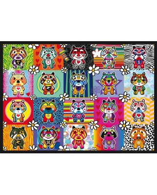 Puzzle Schmidt - Tantan & Momo, 500 piese (58215)