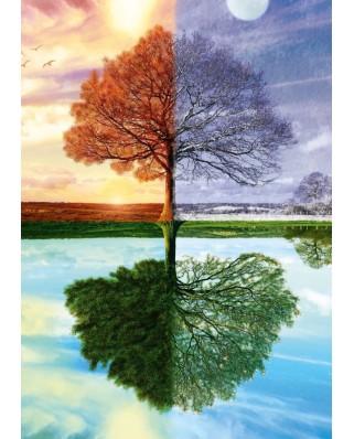 Puzzle Schmidt - Copacul anotimpurilor, 500 piese (58223)