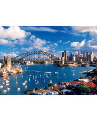 Puzzle Trefl - Port Jackson, Sydney, 1.000 piese (6428)