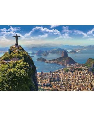 Puzzle Trefl - Rio de Janeiro, 1000 piese (53213)