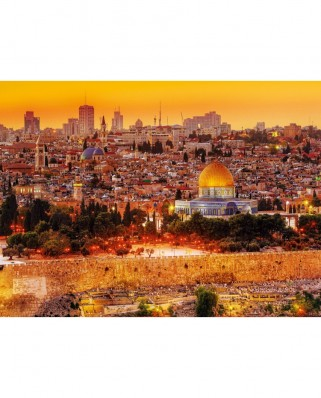 Puzzle Trefl - Roof Tops of Jerusalem, 3.000 piese (12496)