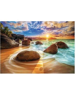 Puzzle Trefl - Samudra Beach, India, 1.000 piese (61513)