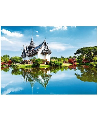 Puzzle Trefl - Sanphet Prasat Palace, 1.000 piese (55052)