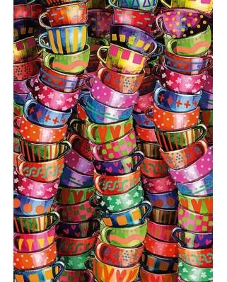 Puzzle Schmidt - Cesti vesel colorate, 500 piese (58228)