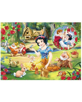 Puzzle Trefl - Snow White and the Seven Dwarfs, 200 piese (55005)