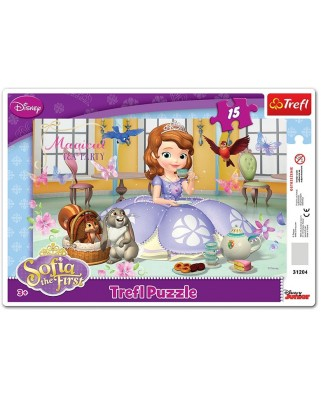 Puzzle Trefl - Sofia the First, 15 piese (48931)