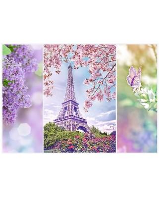 Puzzle Trefl - Spring in Paris, 1000 piese (51302)