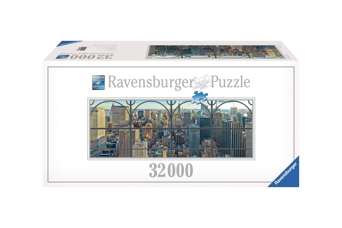 Puzzle Ravensburger - New York Privit De La Fereastra, 32.000 piese (17837)