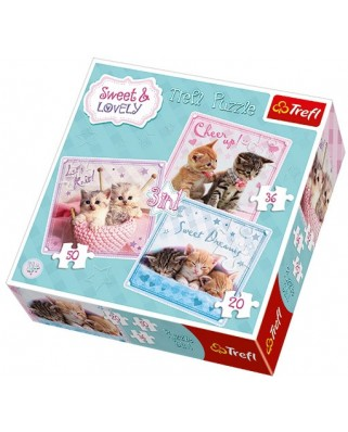 Puzzle Trefl - Sweet & Lovely, 20/36/50 piese (48949)