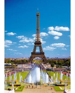 Puzzle Trefl - The Eiffel Tower, Paris, 2.000 piese (3908)