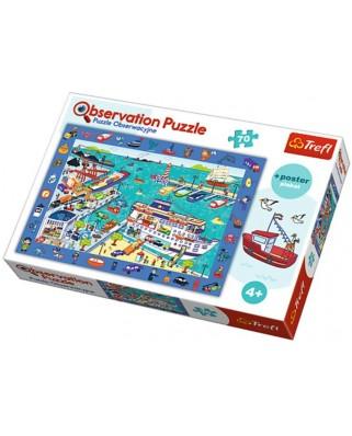 Puzzle Trefl - The Port, 70 piese, observatie (64784)