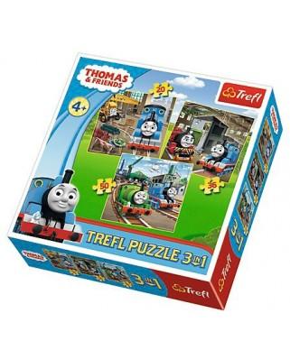 Puzzle Trefl - Thomas & Friends, 20/36/50 piese (58171)