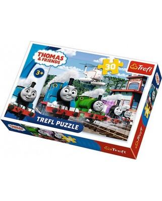 Puzzle Trefl - Thomas & Friends, 30 piese (64804)