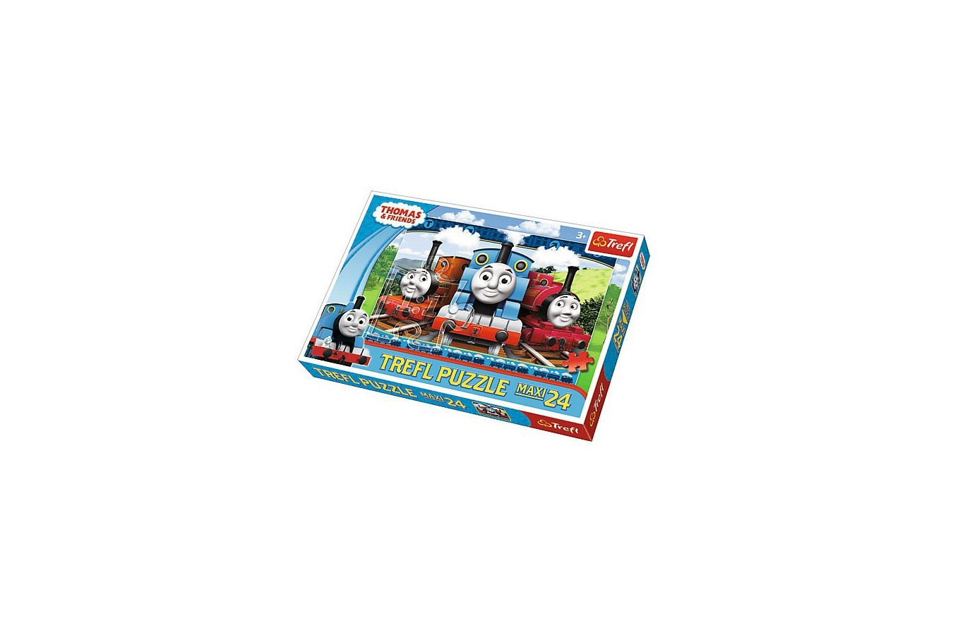 Puzzle Trefl - Thomas the Train, 24 piese XXL (52080)