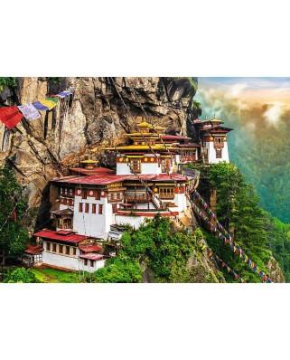 Puzzle Trefl - Tiger's Nest, Bhutan, 2.000 piese (61522)