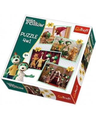 Puzzle Trefl - Treflikow, 35/48/54/70 piese (64876)