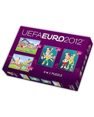 Puzzle Trefl - UEFA EURO 2012, 35/48/54/70 piese (40606)