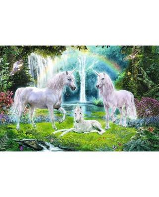 Puzzle Trefl - Unicorns, 260 piese XXL (64822)
