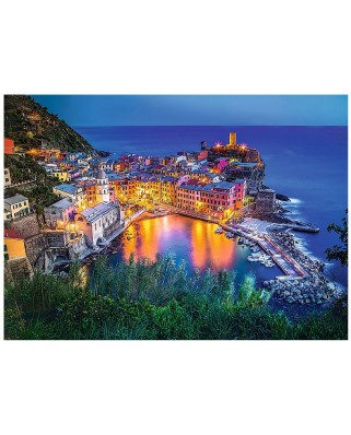 Puzzle Trefl - Vernazza at dusk, 2000 piese (55048)