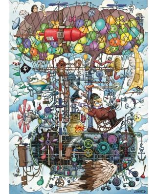 Puzzle Schmidt - Uimitorul aparat de zbor a lui Gumpert, 1.000 piese (58207)
