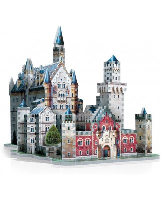 Puzzle 3D Wrebbit - Germany: Neuschwanstein Castle, 890 piese (12836)