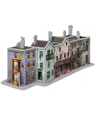 Puzzle 3D Wrebbit - Harry Potter - Diagon Alley, 450 piese (55623)