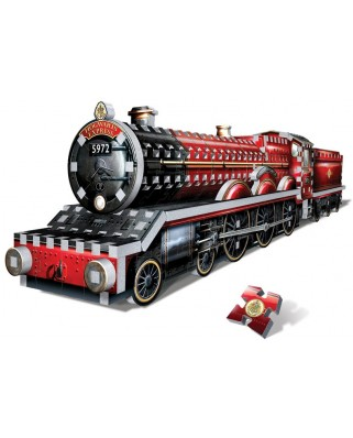 Puzzle 3D Wrebbit - Harry Potter - Hogwarts Express, 460 piese (55622)