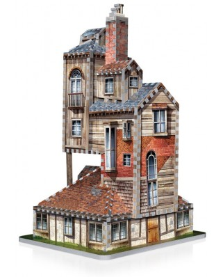Puzzle 3D Wrebbit - Harry Potter - The Burrow - Weasley Family Home, 415 piese (61359)