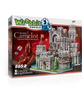 Puzzle 3D Wrebbit - King Arthur's Camelot, 865 piese (65557)
