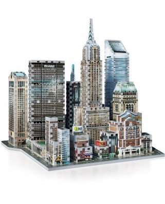 Puzzle 3D Wrebbit - New York Collection: Midtown East, 875 piese (47544)