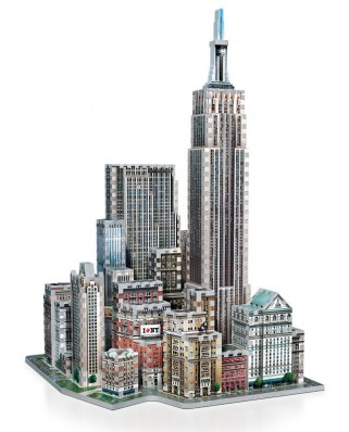 Puzzle 3D Wrebbit - New York Collection: Midtown West, 900 piese (47543)
