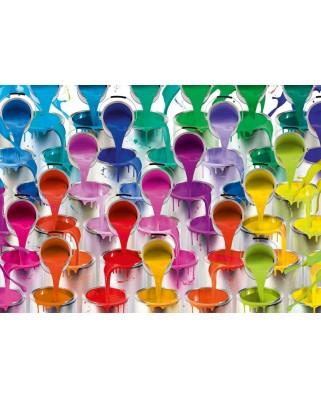 Puzzle Schmidt - Galeti si rauri de culori, 1.000 piese (58219)