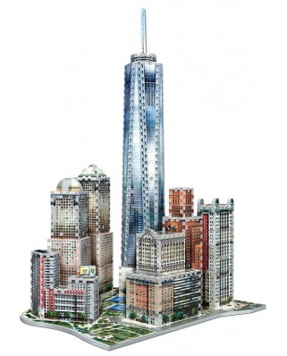 Puzzle 3D Wrebbit - New York Collection: World Trade, 875 piese (52540)