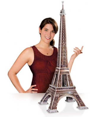 Puzzle 3D Wrebbit - Paris: The Eiffel Tower, 816 piese (12838)