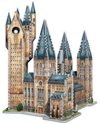 Puzzle 3D Wrebbit - PoudlardTM - Astronomy Tower, 875 piese (52543)
