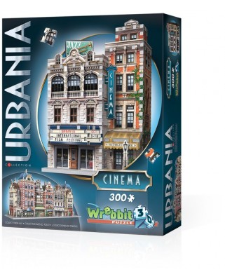 Puzzle 3D Wrebbit - Urbania Collection - Cinema, 300 piese (61363)