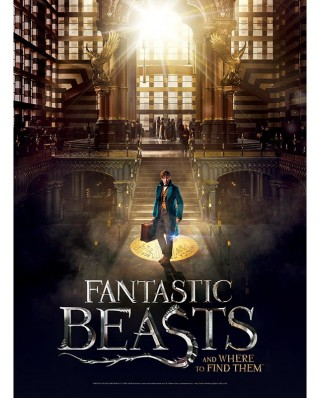 Puzzle Wrebbit - Poster Fantastic Beasts - Macusa, 500 piese (57049)