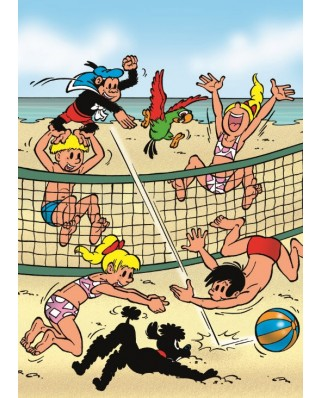 Puzzle PuzzelMan - Beach Volley, 99 piese (1988)