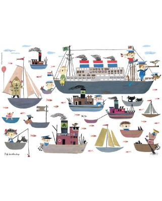 Puzzle PuzzelMan - Boating, 99 piese (54368)