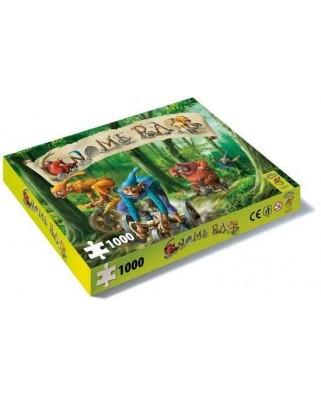 Puzzle PuzzelMan - Gnome Race, 1.000 piese (48247)