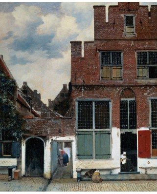 Puzzle PuzzelMan - Johannes Vermeer: Collection Rijksmuseum Amsterdam - The Little Street, 1.000 piese (43146)