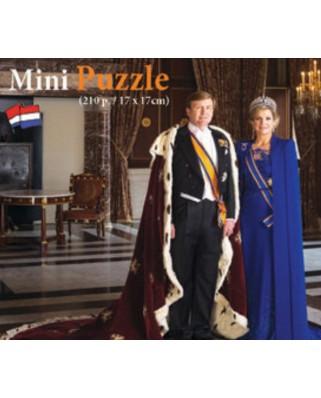 Puzzle PuzzelMan - Konigspaar - Willem-Alexander und Maxima der Niederl, 1.000 piese (51491)