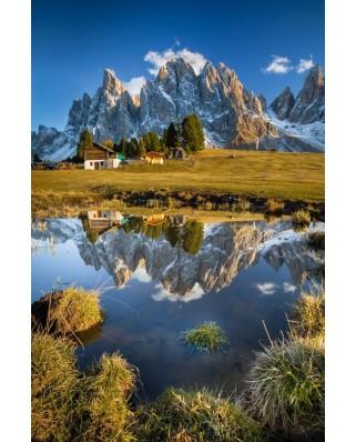Puzzle Schmidt - Cabana in Alpi, 1.000 piese (58237)