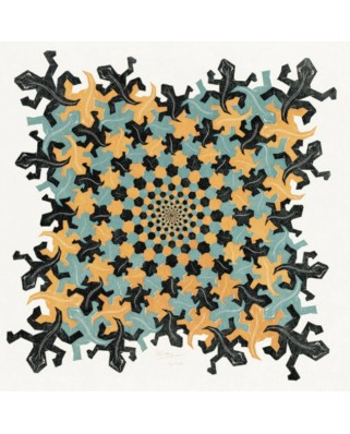 Puzzle PuzzelMan - Maurits Cornelis Escher: From Small to Large, 210 piese (61589)